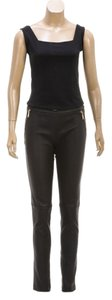 Emilio Pucci Straight Pants Black