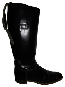 Colt Riding Equestrian Leather Colt black Boots