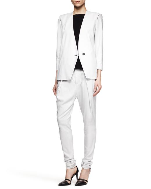 Helmut Lang Jacket Asymmetrical Light gray Blazer Image 4