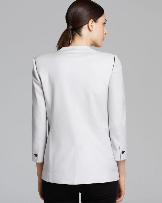 Helmut Lang Jacket Asymmetrical Light gray Blazer Image 6