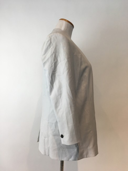 Helmut Lang Jacket Asymmetrical Light gray Blazer Image 8