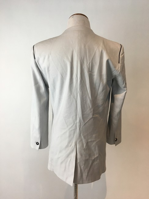 Helmut Lang Jacket Asymmetrical Light gray Blazer Image 9