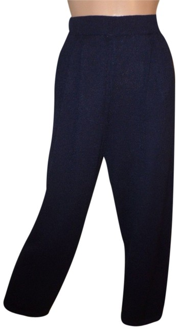 St. John Capri/Cropped Pants Navy