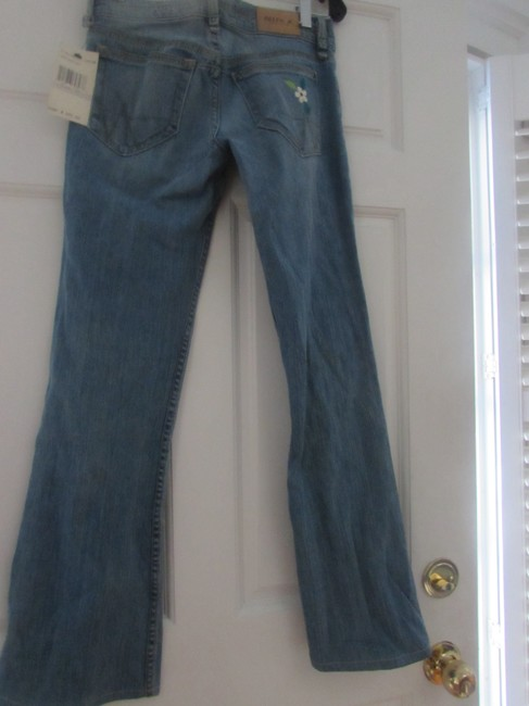 A.B.S. by Allen Schwartz Peacock B. Boot Cut Jeans-Medium Wash