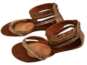 Madden Girl Metallic Sandals