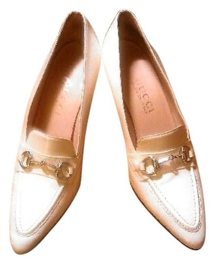 Gucci Heels Creme Pumps