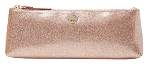 "Kate Spade ""Hold for Esther"" New! Kate Spade Mattie Glitter Bug Pouch in Rose Gold"