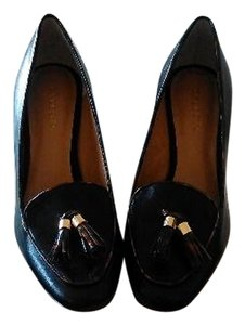 Talbots Leather Heel Black Pumps
