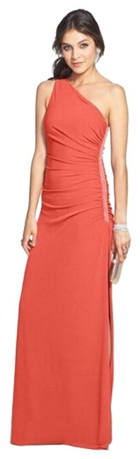Laundry by Shelli Segal Wedding One Shoulder Ruched Dress