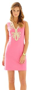Lilly Pulitzer short dress Hotty Pink Shift Engagement Wedding Bridal Shower Homecoming on Tradesy