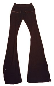 LNA Super Flare Pants Black