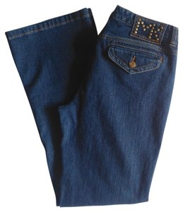 Michael Kors Boot Cut Jeans-Medium Wash