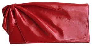 Nordstrom Patent Leather Red Clutch