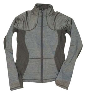 Lululemon Lululemon,Light,Weight,Heathered,Olive,Green,Athletic,Zip-up,Jacket