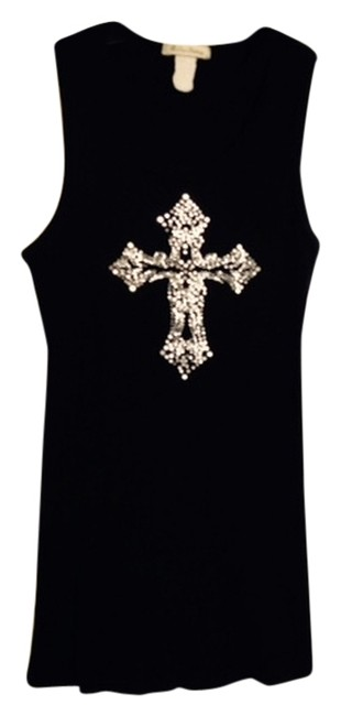 One Clothing Top Black with Silver