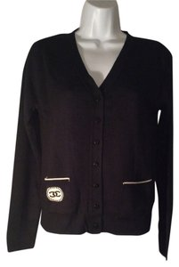 Chanel Wool Size 6 Uniform Made In France Cardigan Sweater