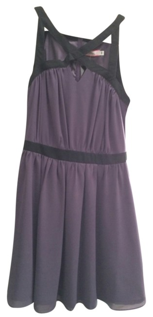 Willow & Clay short dress Purple with black on Tradesy