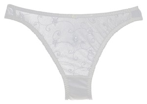 Dominique Dominique Panty 589 White Size S