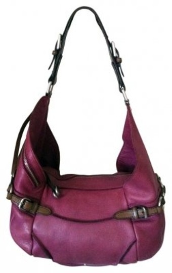Preload https://item1.tradesy.com/images/kenneth-cole-handbag-fuschia-and-brown-leather-hobo-bag-5760-0-0.jpg?width=440&height=440