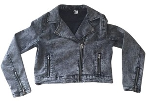 Divided by H&M Faded Grey Womens Jean Jacket