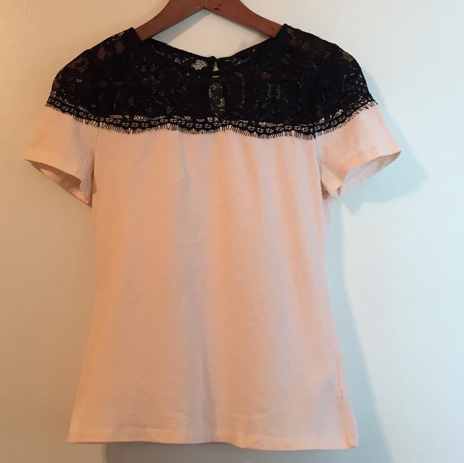 H&M T Shirt Pink and Black