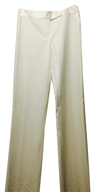 bebe Trouser Pants White/cream