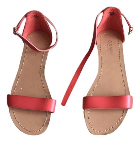 Old Navy Coral Sandals