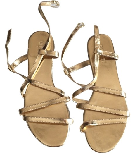 Old Navy Gold Sandals