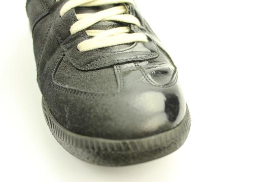 Maison Margiela Black Patent Leather/ Suede Athletic