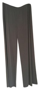 Chico's Chico Brown Slinky Knit Lightweight Wide Leg Relaxed Pants Chocolate Brown