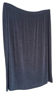 Chico's Chico Slinky Skirt Dark Brown