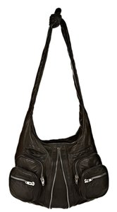 Alexander Wang Donna In Washed With Rhodium Hobo Bag
