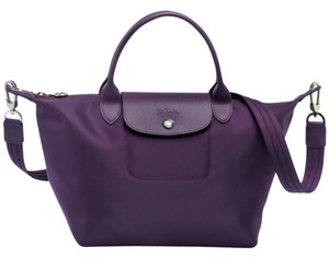 Longchamp Satchel Tote Cross Body Bag