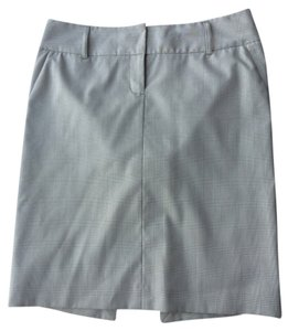 Express Skirt Grey, white