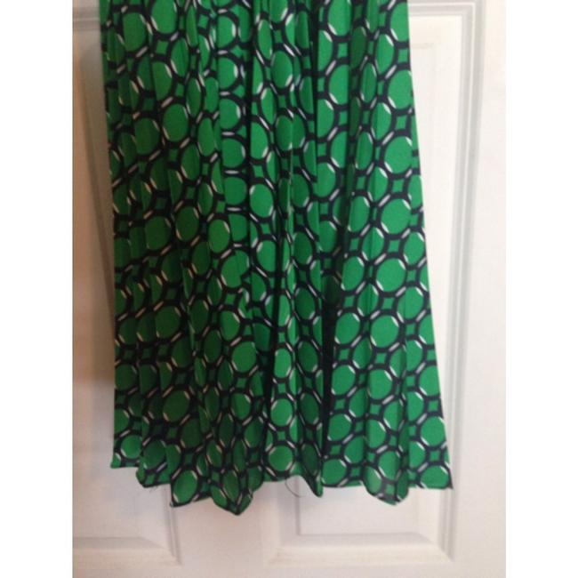 Green and Navy Maxi Dress by Michael Kors