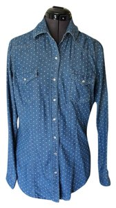 Daniel Rainn Polka Dot Button Down Shirt Jean