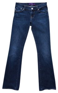 Victoria Beckham 29.5 Inseam Boot Cut Jeans-Medium Wash