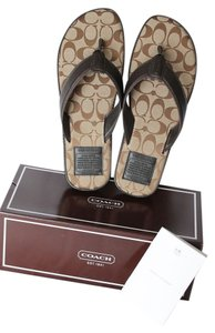 Coach Features: Brown Sandals