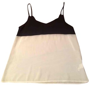 Nasty Gal Top Black & White