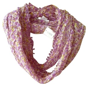 J.Crew J. Crew Lavender purple yellow floral scarf New with tag