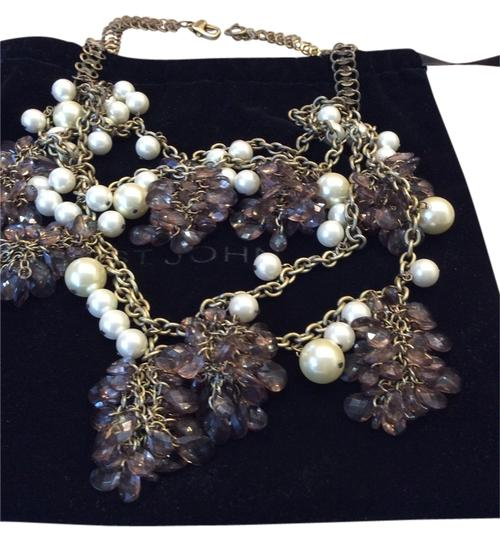 Preload https://item2.tradesy.com/images/st-john-st-john-faux-pearls-and-glass-bead-necklace-5765221-0-0.jpg?width=440&height=440