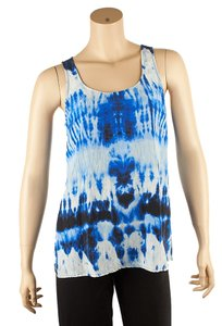 Michael Kors Tie Dye Top Blue