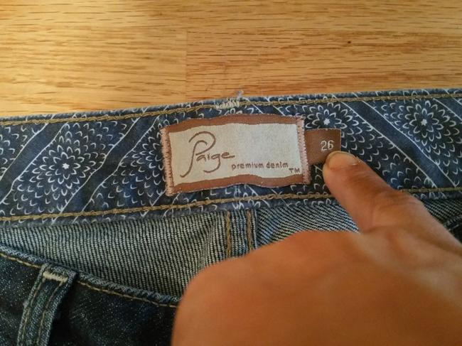 Paige Adorable But Too Small For Me Boot Cut Jeans-Medium Wash