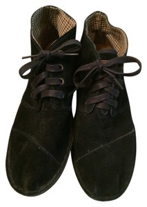 TOMS Black Suede Boots