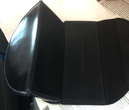 Marc Jacobs Marc by Marc Jacobs Leather sunglasses/ eyeglass case Oversized