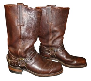 Frye Men's Brown Harness Boots Boots