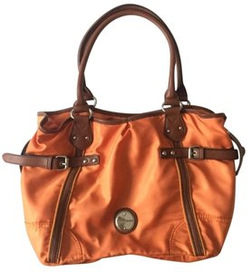 Franco Sarto Nylon Leather Shoulder Bag
