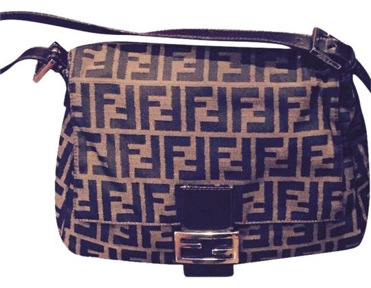 Preload https://item4.tradesy.com/images/fendi-brown-canvas-and-leather-baguette-5767603-0-2.jpg?width=440&height=440