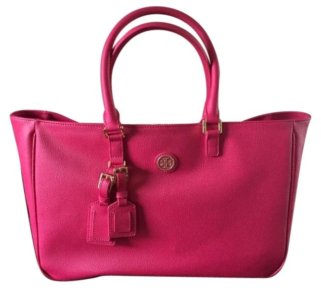 Item - Roslyn Pink Leather Tote