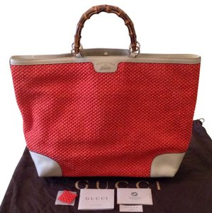 Gucci Tote in Orange Red
